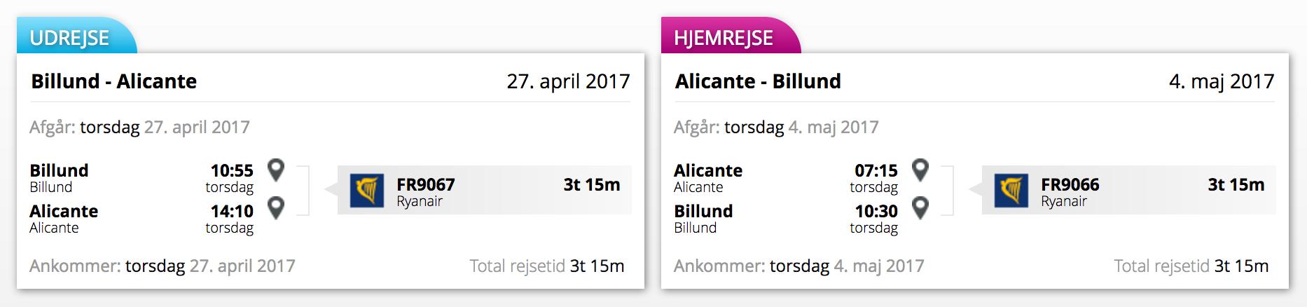 Fly - Alicante